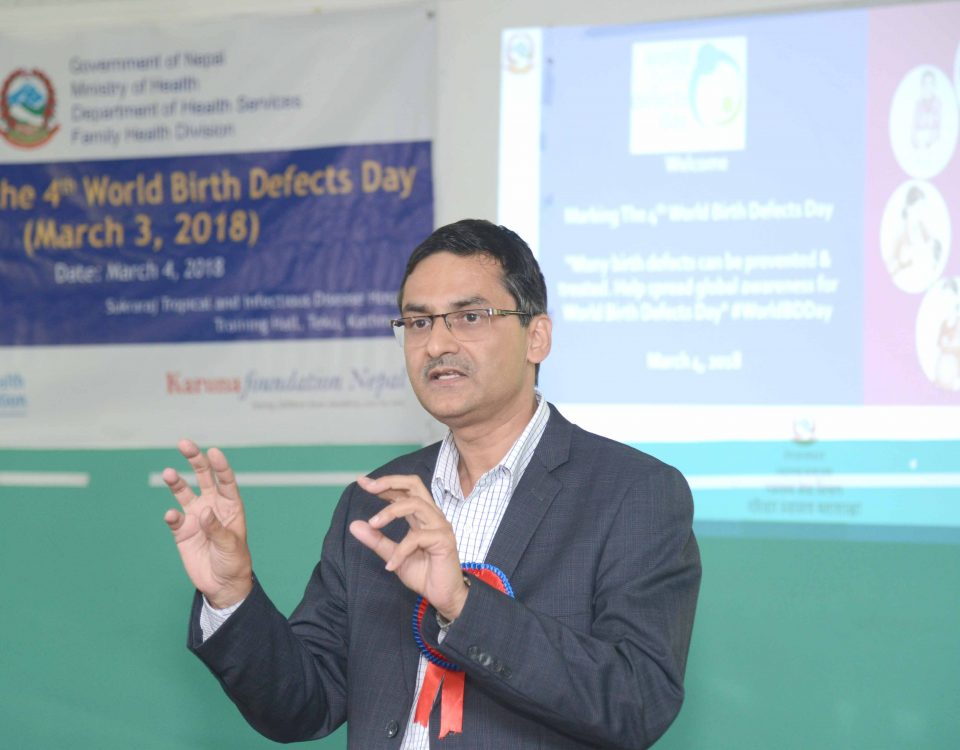 Marking the 4th World Birth Defects Day